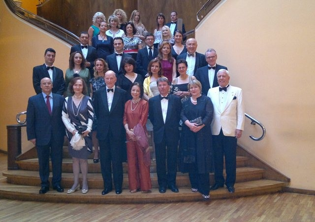Gala dinner under the patronage of HM King Simeon II and HM Queen Margarita
