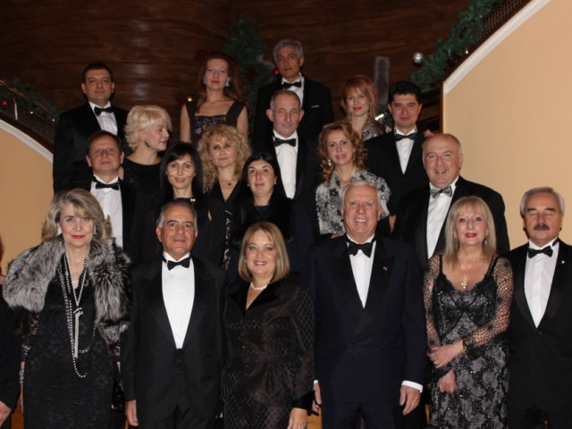 Argentinian gala dinner