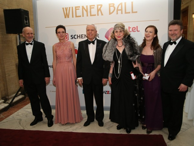 At Viennese Ball