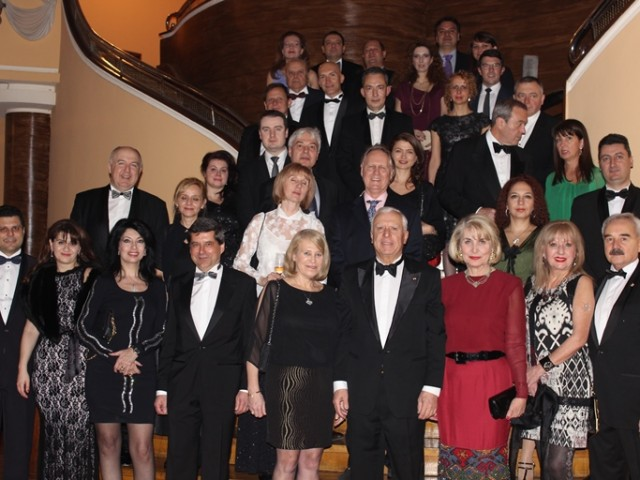 Austrian gala dinner