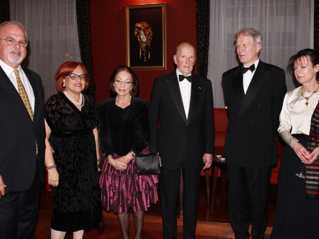 Gala Dinner in Honor of the New French Ambassador