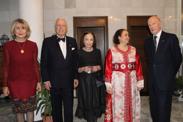 Moroccan Gala Dinner  Honourable Guests – Their Majesties King Simeon II and Queen Margarita